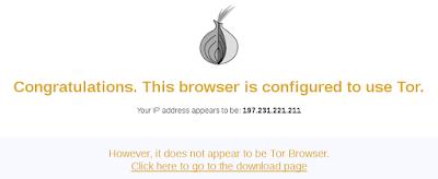 Teste Tor