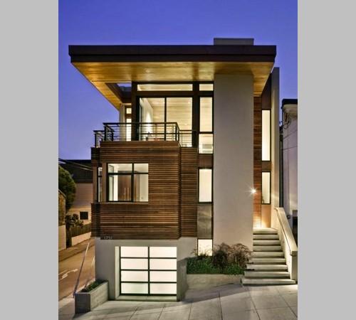 desain rumah ala eropa modern