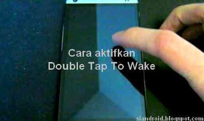 Cara aktifkan layar dengan ketuk 2 kali di Android Xiaomi