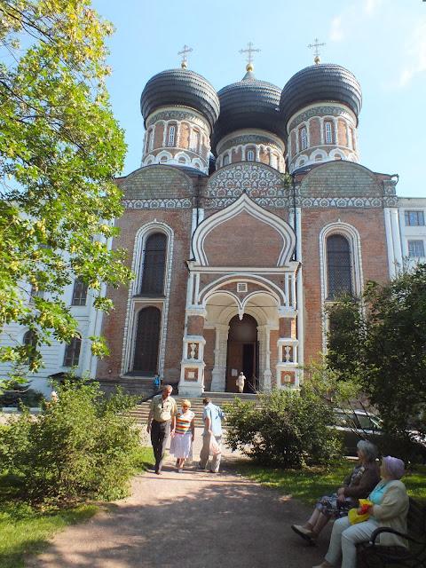 Iglesia en el parque de Izmáilovo
