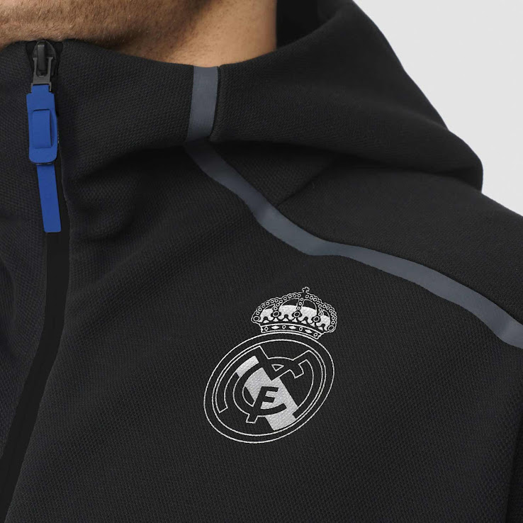 5dcd064a3 Real Madrid 16-17 Champions League Anthem ZNE Hoodie Revealed ...
