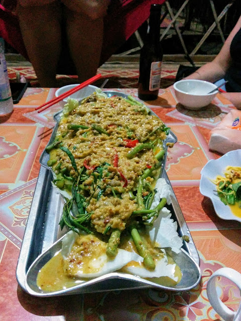 Fried fish with curry paste with Siem Reap Food Tours in Cambodia