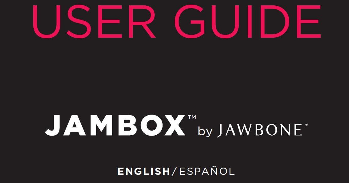 jawbone jambox manual download manual pdf online. Black Bedroom Furniture Sets. Home Design Ideas