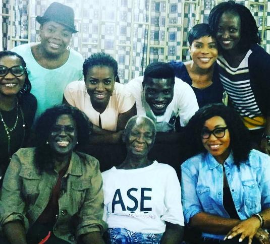 nollywood visit bukky ajayi