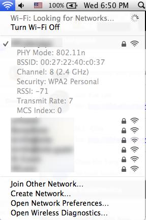 Hidden Wifi utilities in Mac OSX Mavericks   Hanxue and IT