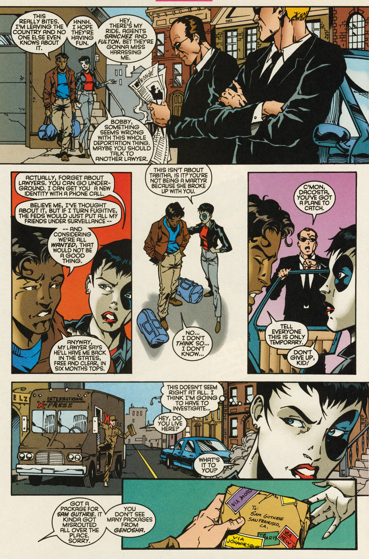 Read online X-Force (1991) comic -  Issue #93 - 20
