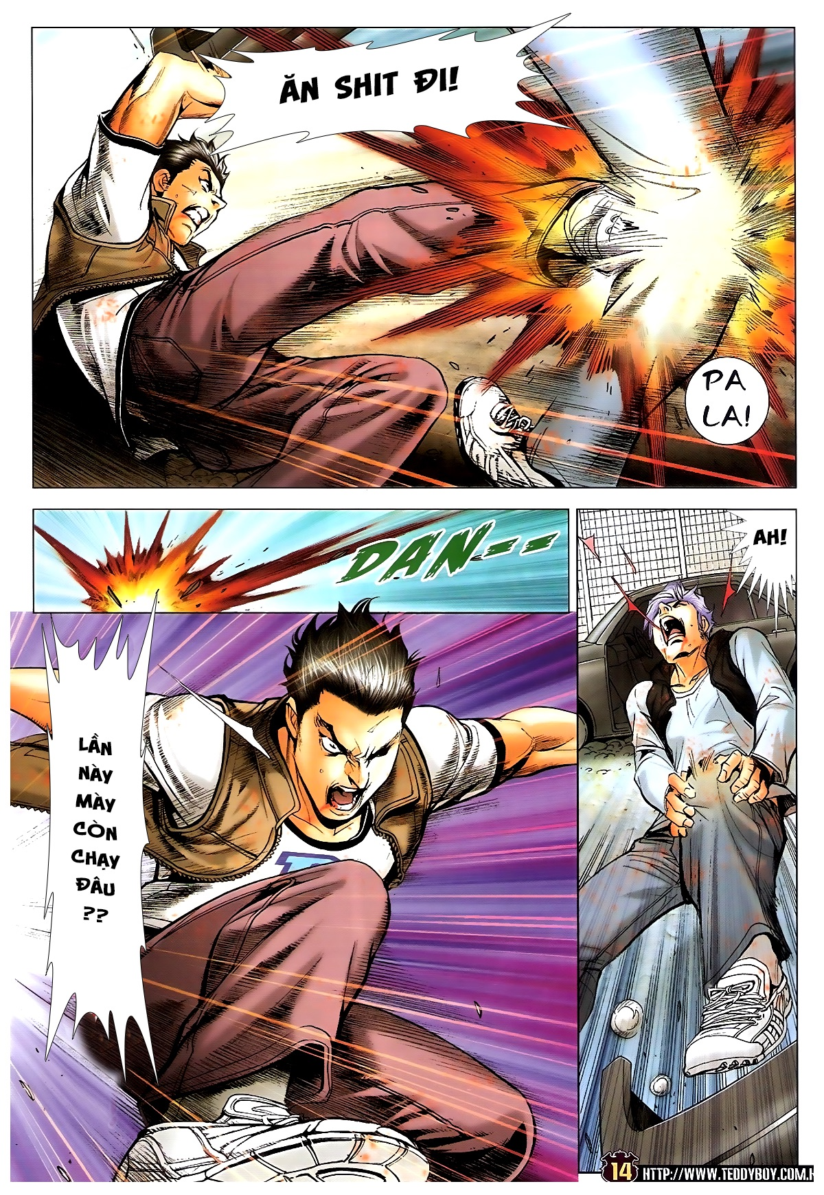 Người Trong Giang Hồ chapter 1703: lịch sử trùng diễn 4 trang 12
