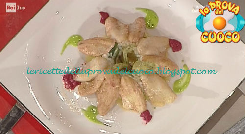 Vialone al pesce persico ricetta Gandola da Prova del Cuoco