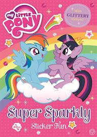 MLP Super Sparkly Sticker Fun Book Media