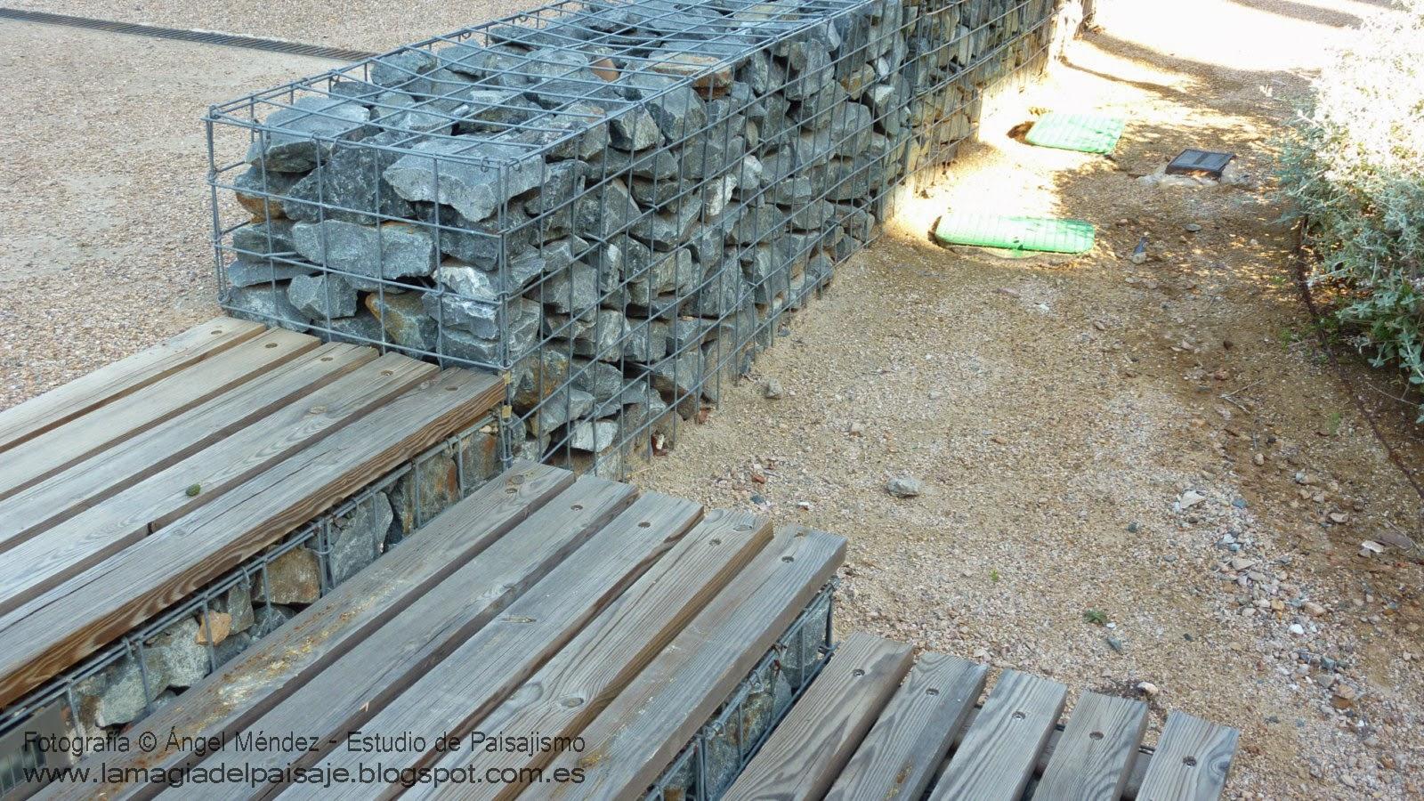 Muros de gaviones soluciones sostenibles for Como hacer color piedra