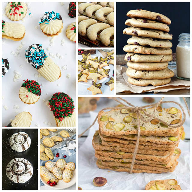 70+ Homemade Christmas Food Gifts: Baked Goods Recipes Like Cookies, Bars & Biscotti