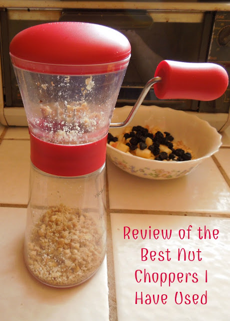 Review of the Best Nut Choppers I Have Used: The Progressive Nut chopper and the Norpro Nut Chopper
