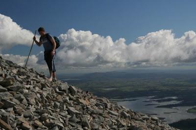 Gunung Croagh Patrick