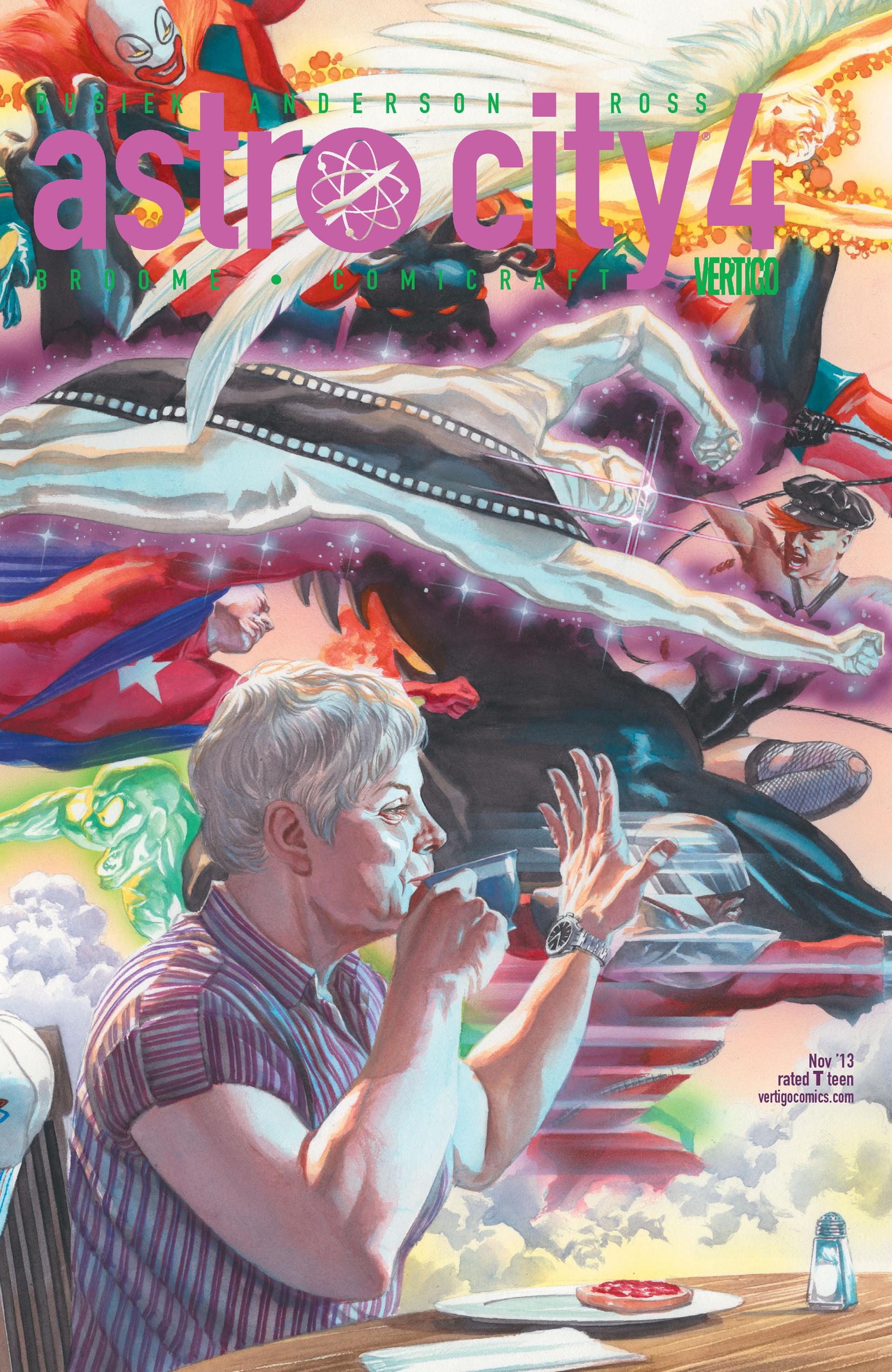 Read online Astro City comic -  Issue #4 - 1