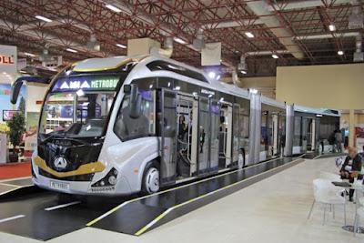 Türkiye'nin ilk metrobüsü