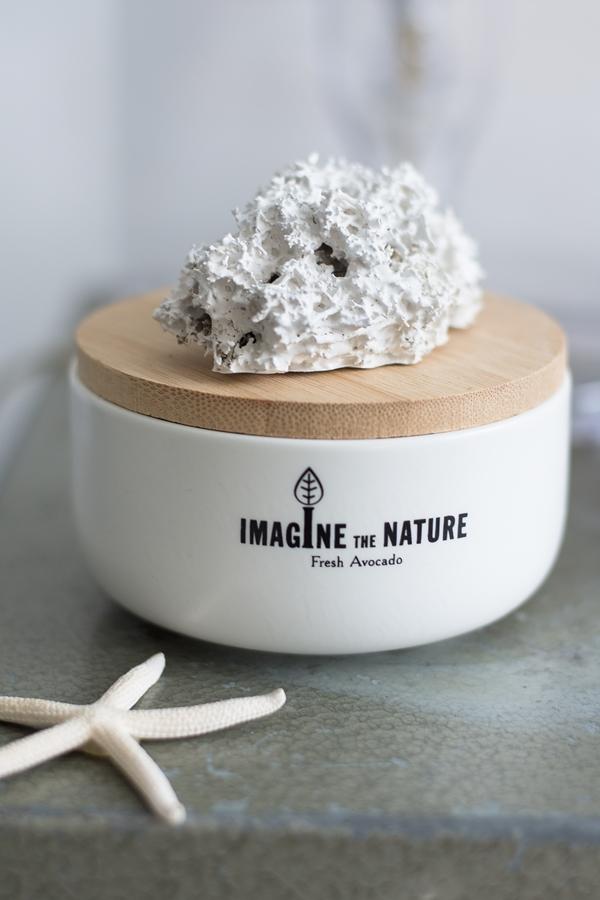 DIY Korallen Kerzenständer