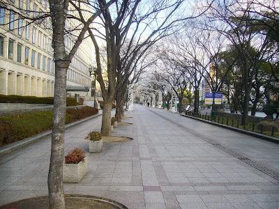 大阪市・中之島公園ウォーキング・みおつくしプロムナード