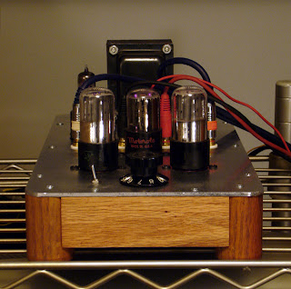 6SL7 Phono 6SN7 Single Gain Line Stage PS In One Chassis