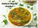 Vallarai KeeraiSambar