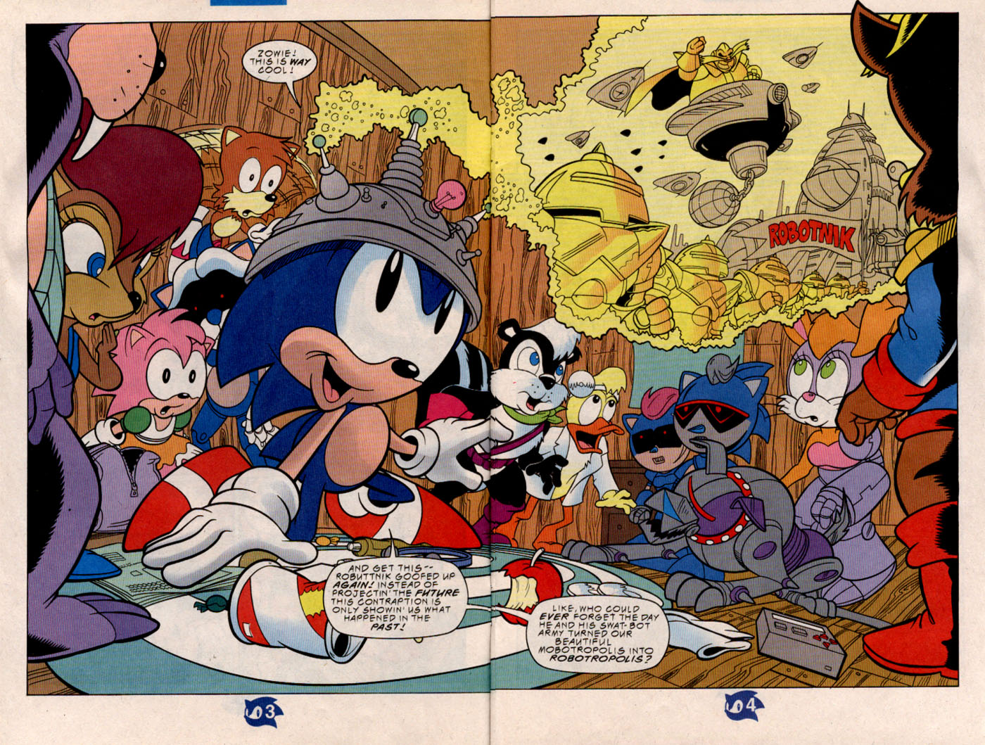 Read online Sonic The Hedgehog comic -  Issue #57 - 5