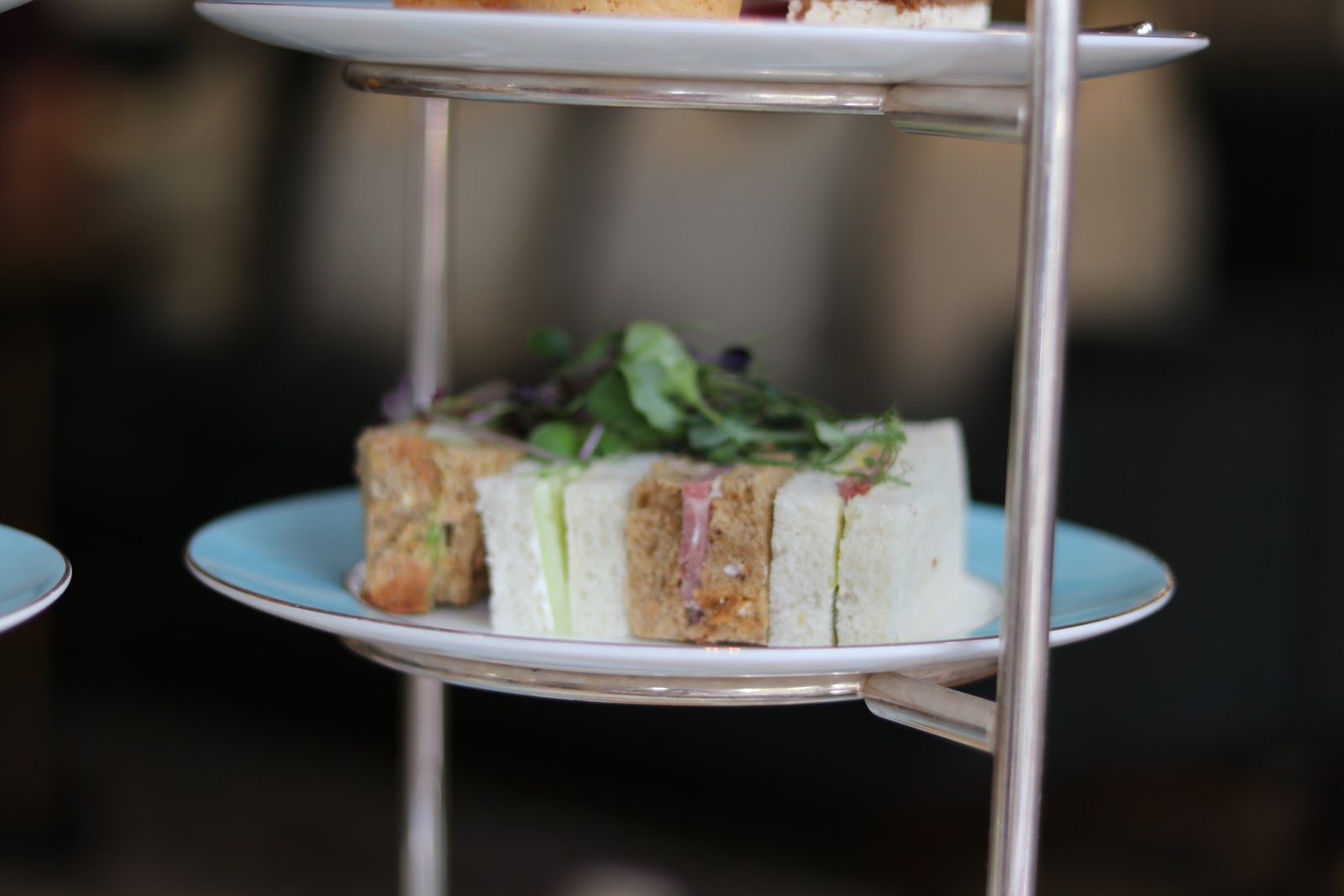 Sandwiches, Afternoon Tea, The Town House, The Kensington Hotel, Kensington, Chelsea, London