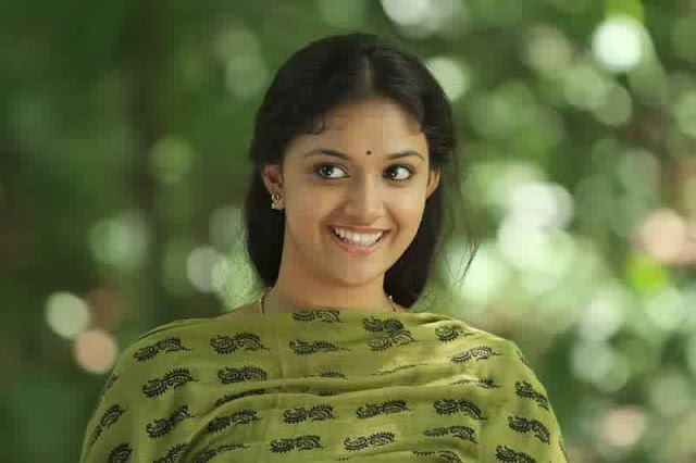 Keerthy Suresh Smile In Nature