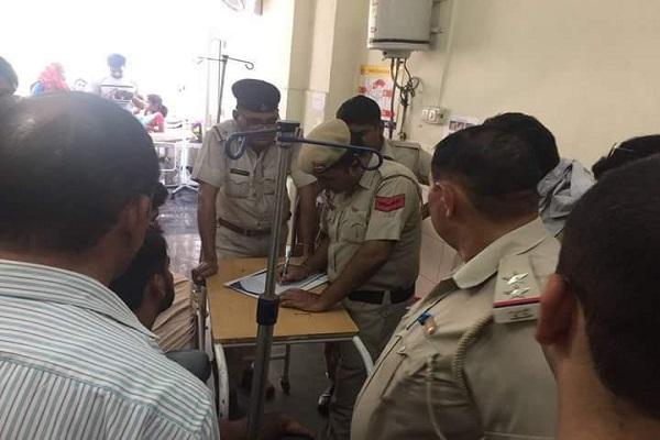 हरियाणा में दिनदहाड़े युवक को काट डाला, प्रदेश के बदमाशों में नहीं है खाकी का खौफ