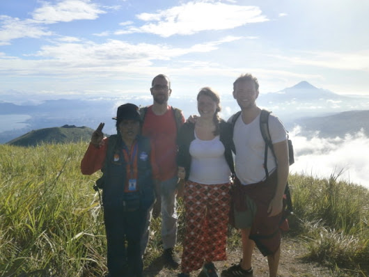 lokon volcano adventure summit point