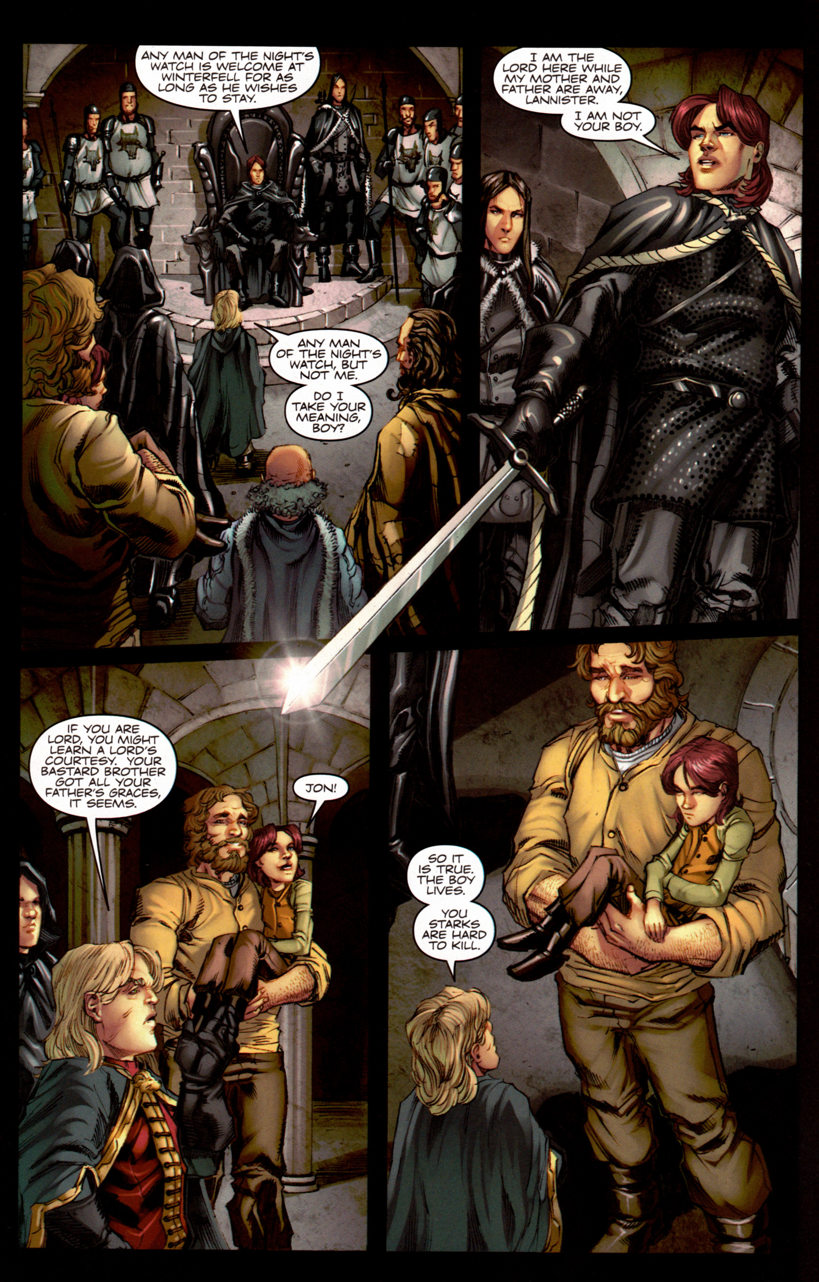 Read online A Game Of Thrones comic -  Issue #7 - 25