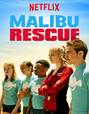 Malibu Rescue (2019) Dual Audio Hindi ORG 480p HDRip 250MB MSubs Movie Download