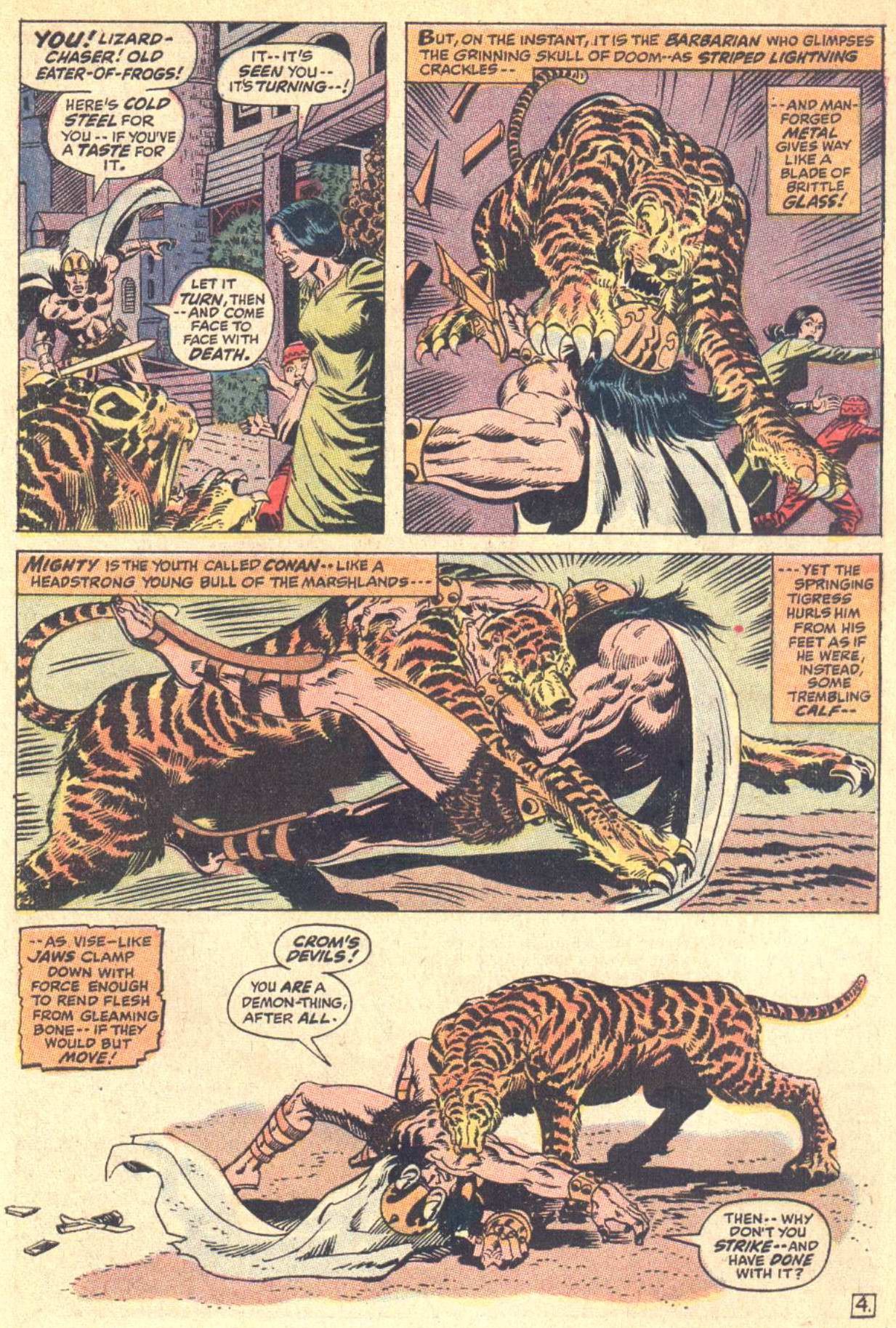 Conan the Barbarian (1970) Issue #5 #17 - English 5