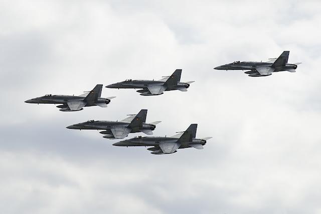 Canadian Hornets Romania NATO