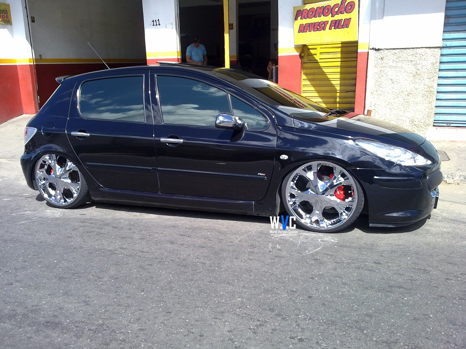 World Version Custom Carro Do Internauta 307 Rodas Aro 20