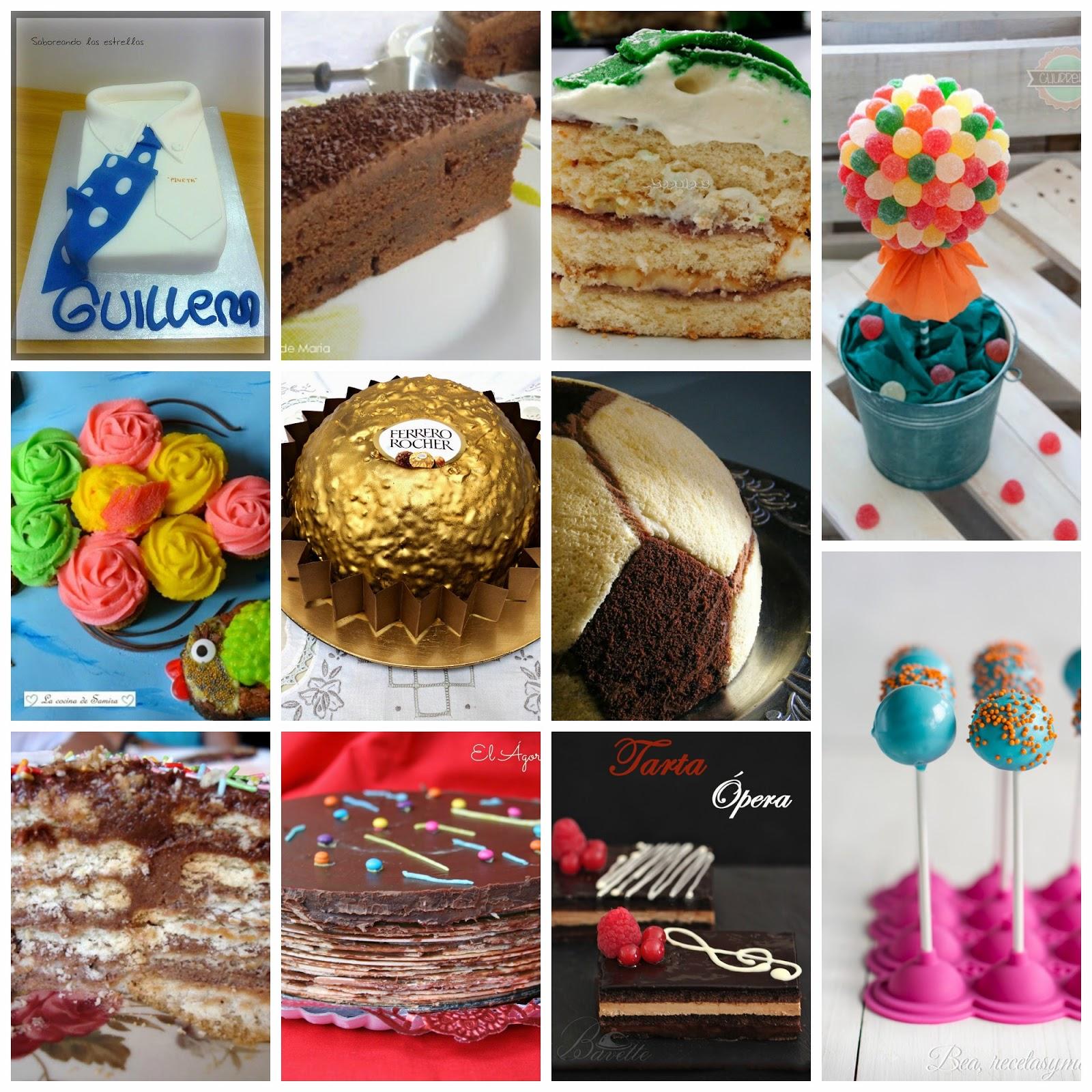 11 pasteles para una fiesta de cumplea os infantil - Comidas para cumpleanos en casa ...