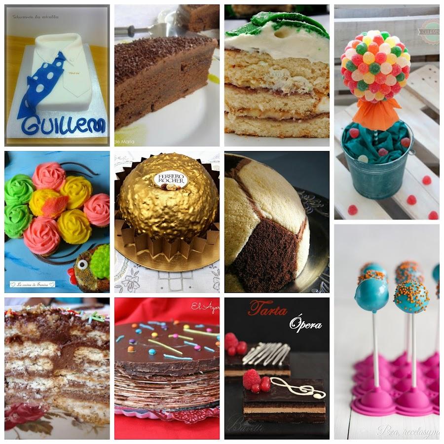pasteles para una fiesta de cumpleaos infantil