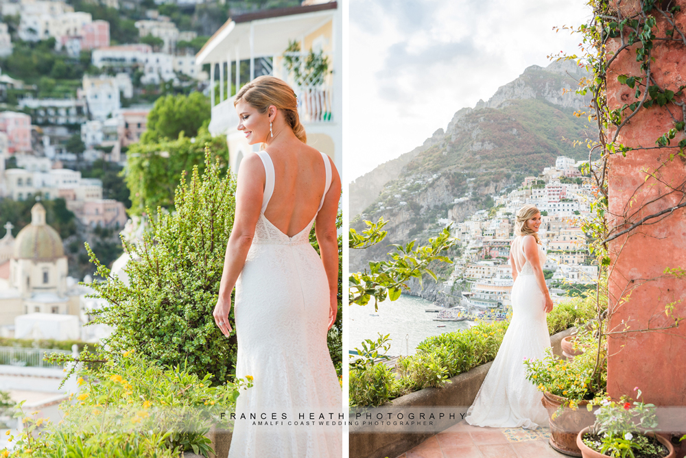 Bride at Hotel Marincanto