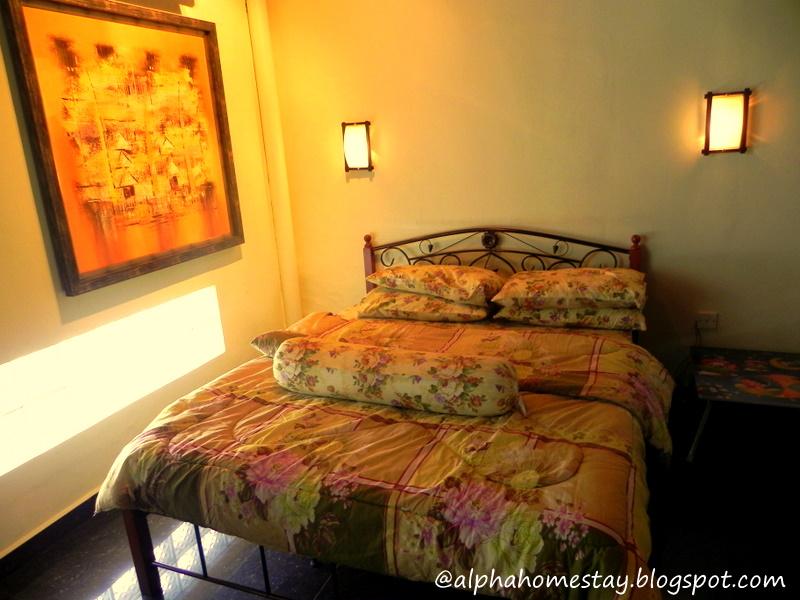 Sejuk Mata Memandang Bila Anda Melangkah Ke Bilik Tidur Ini Dilengkapi Dengan Queen Size Bed Hiasan Lampu Dinding Yang Sangat Cantik
