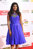 Eesha in Cute Blue Sleevelss Short Frock at Mirchi Music Awards South 2017 ~  Exclusive Celebrities Galleries 029.JPG