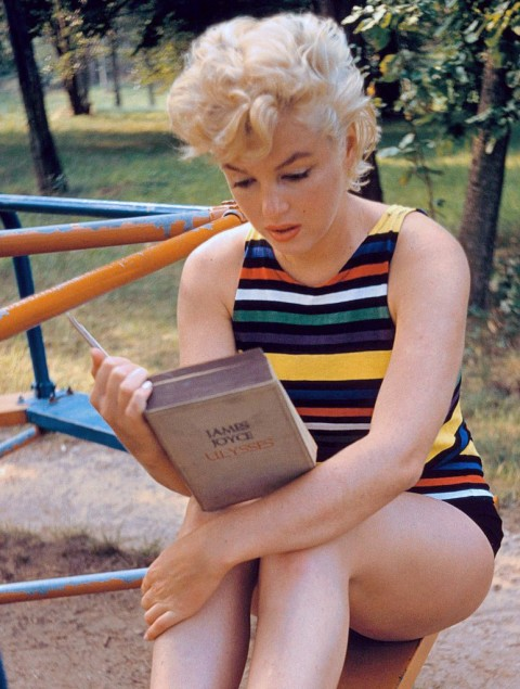 Eve Arnold Perhaps Best Known For Her >> Tara Stubbs That Picture Of Marilyn Monroe Reading Ulysses