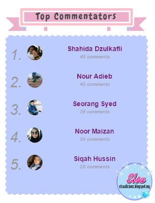 Top Commentators Bulan April Blog: Elsaalicious