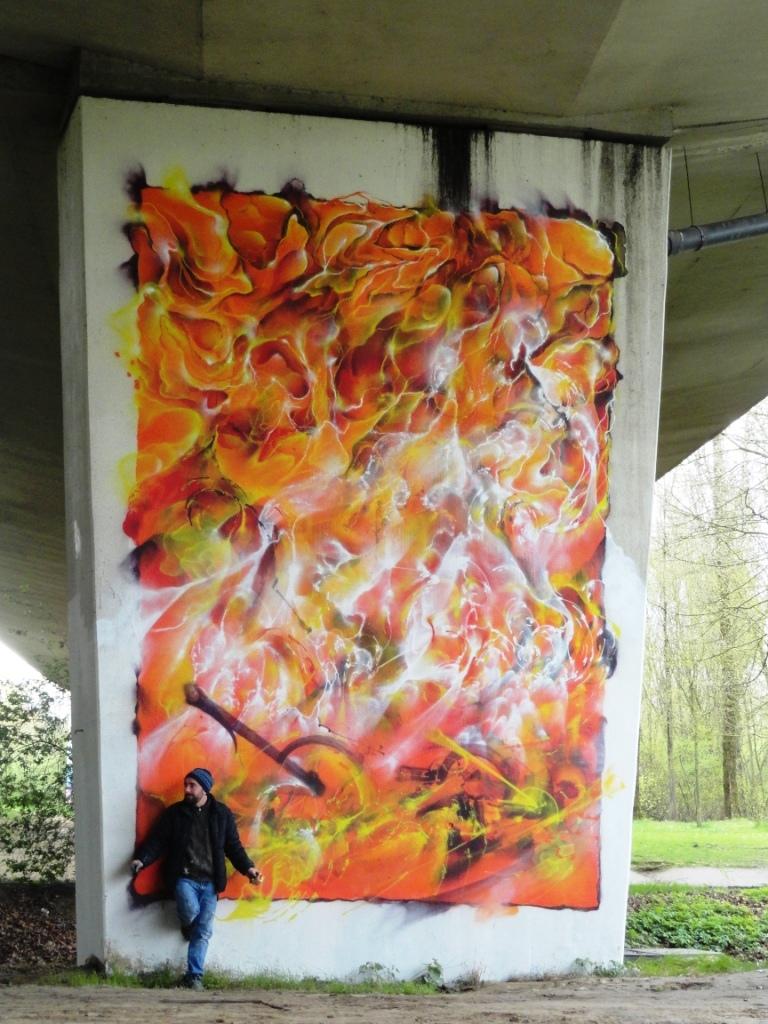 neerpede bruxelles graffiti