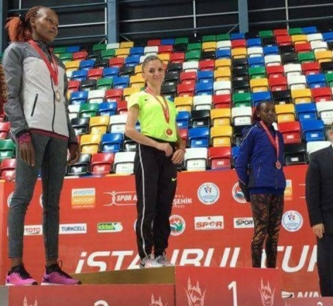 Albanian Queen of Athletics, Luiza Gega wins gold medal in Turkey