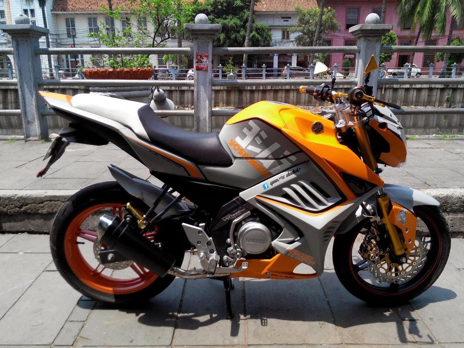 Related To Gambar Modifikasi Yamaha New Vixion Super Keren Terbaru
