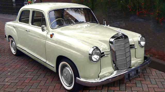 Mercedes-Benz W120 180 Ponton Mercy Kentang