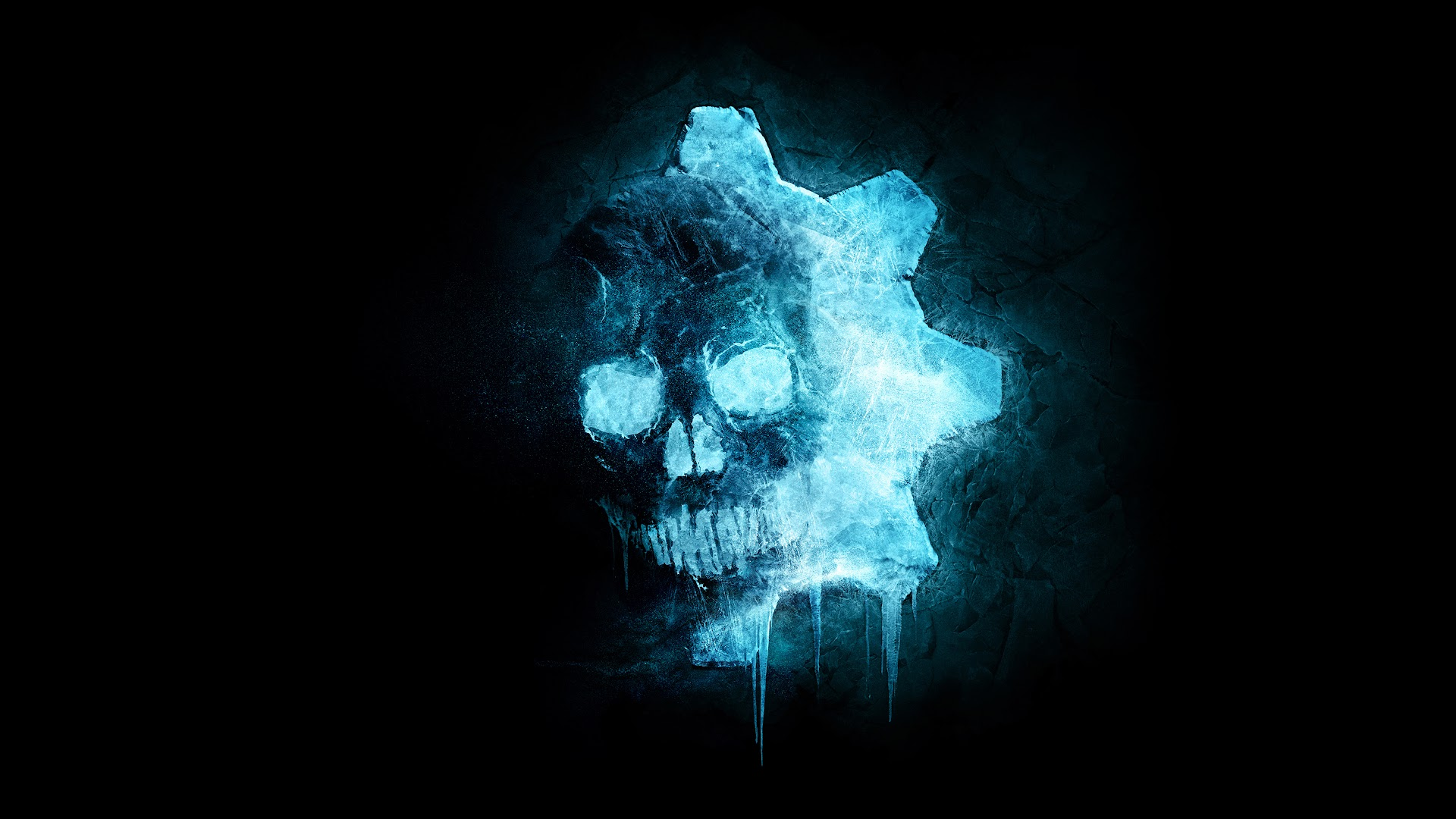 Gears 5 Skull Logo 4k Wallpaper 2