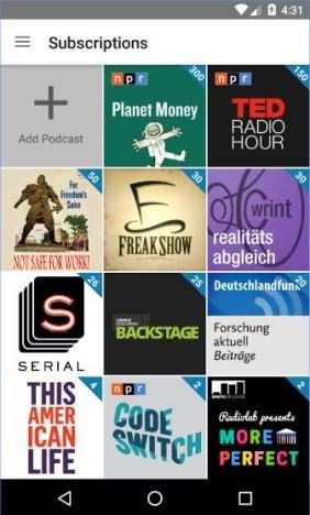 Antenna Pod, download Podcast di ogni tipo, in ogni situazione e da tutte le stazioni Radio.