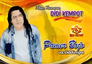 Lirik Lagu Pamer Bojo - Didi Kempot