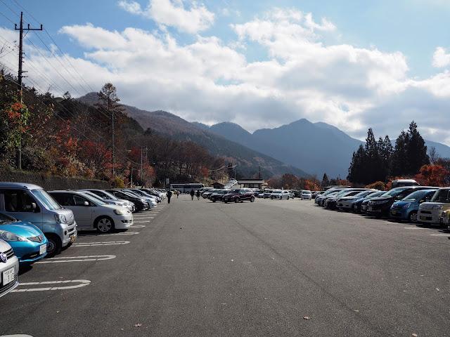 秩父 三峯神社駐車場