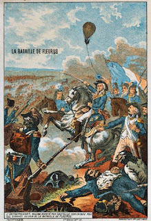 Captain Coutelle at the battle of Fleurus