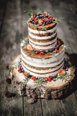 gateau deco table mariage champetre